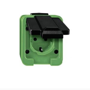 Farbige AP Steckdosen für außen einzel, doppel, dreifach