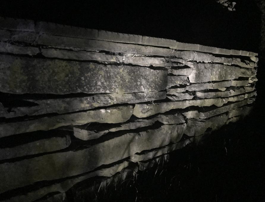 Beleuchtung Für Mauern Sockel In Pflanzbeete Steingärten