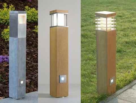 pollerleuchten mit 2 lichtquellen separat zu schalten gartenleuchten. Black Bedroom Furniture Sets. Home Design Ideas