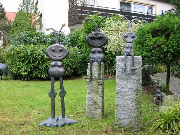 basche kupferarbeiten young art collection garten skulpturen. Black Bedroom Furniture Sets. Home Design Ideas