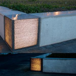 Außenleuchten aus Beton