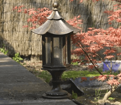 Beleuchtung Japangarten