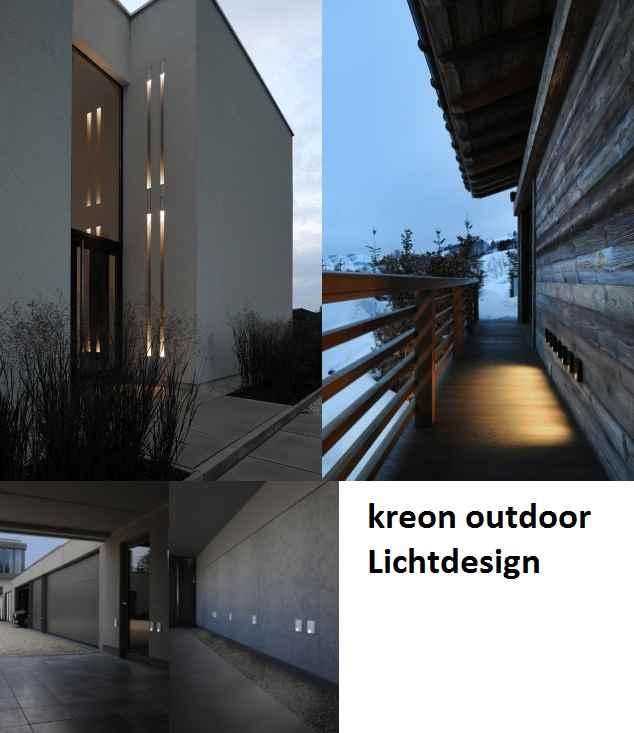 Kreon Außenleuchten für eine moderne Architekturbeleuchtung
