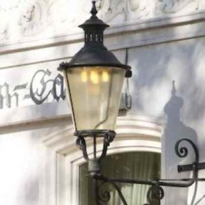 Alte Außenlampen