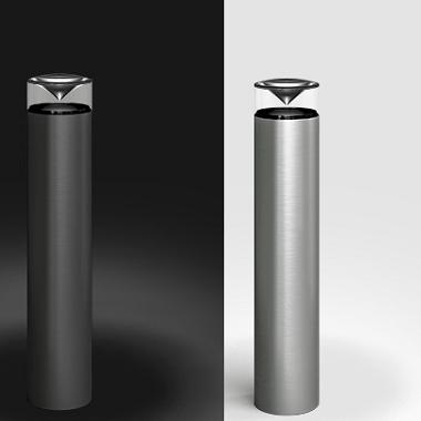led aluminium wegbeleuchtung bringt sehr viel licht. Black Bedroom Furniture Sets. Home Design Ideas