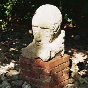 Bildhauer Kopf Sandstein