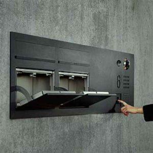 Briefkasten öffnen per Fingerprint