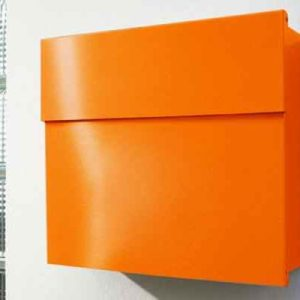 Briefkasten orange