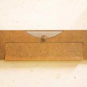 Bronze Briefeinwurf