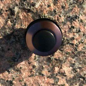 Bronze Klingelknopf Einsatz