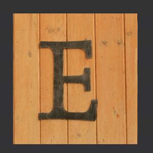 Buchstaben Reithalle