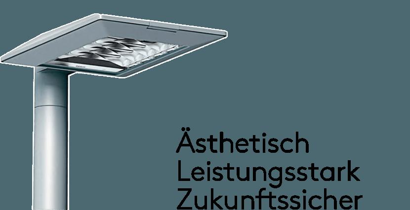 Ästhetische LED-Straßenleuchte