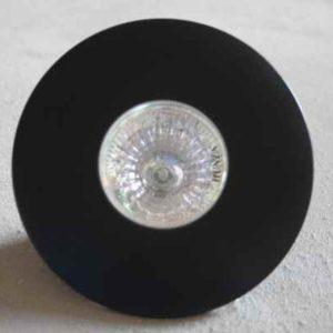 Deckeneinbaustrahler außen schwarz