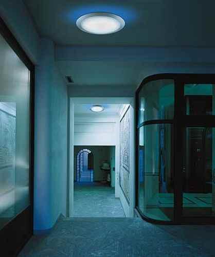 gro e runde au en deckenleuchte f r durchgang terrasse und. Black Bedroom Furniture Sets. Home Design Ideas