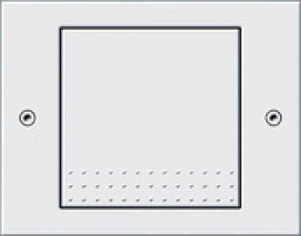 Design Außen Lichtschalter weiß