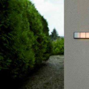 Design Wandleuchte für außen Arturo Alvarez Glas