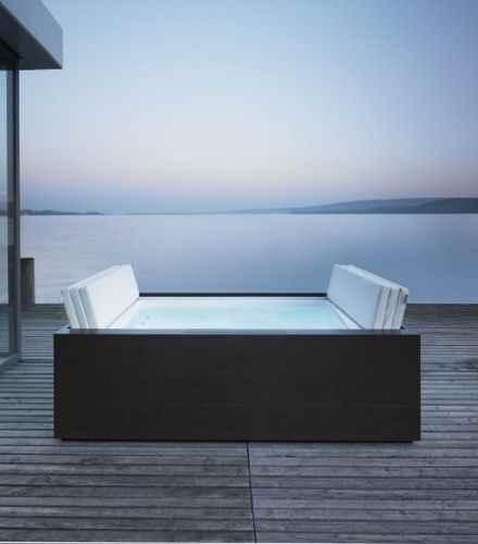 luxus pool wanne f r garten und terrasse sundeck pool. Black Bedroom Furniture Sets. Home Design Ideas