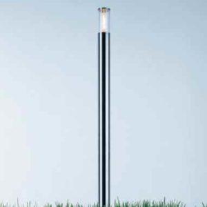 Edelstahl Lichtstele für Außen Heyligenstaedt