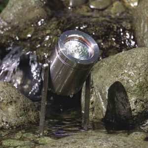 Edelstahl unterwasserspot selbst stehend
