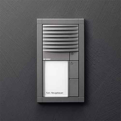 modern sprechen und klingel am hauseingang vario siedle modu. Black Bedroom Furniture Sets. Home Design Ideas