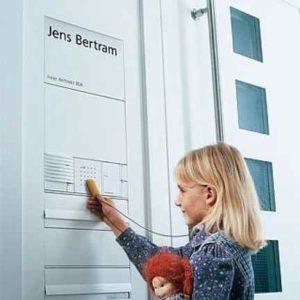 Elektronischer Schlüssel öffnet Türen+ Haustüren