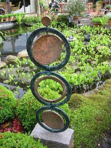 Energieringe aus Kupfer Garten