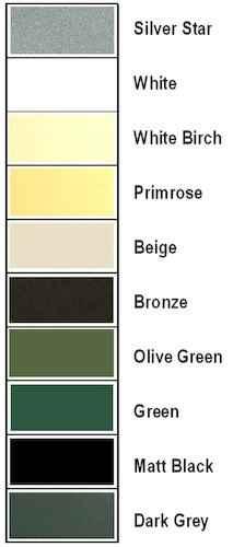 farbige Deckeneinbaustrahler außen