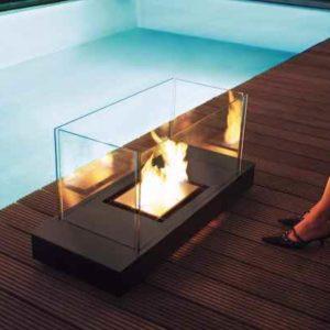 Feuertisch Terrasse