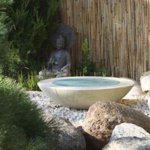 Garten Brunnenschale