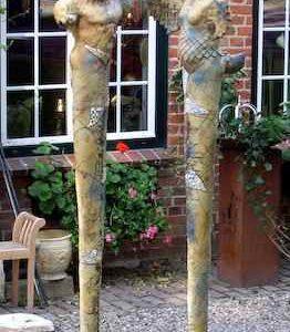 Garten-Kunstwerk