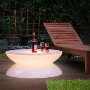 Garten Leuchttisch outdoor