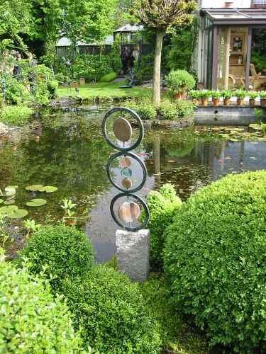 Garten und Kunst