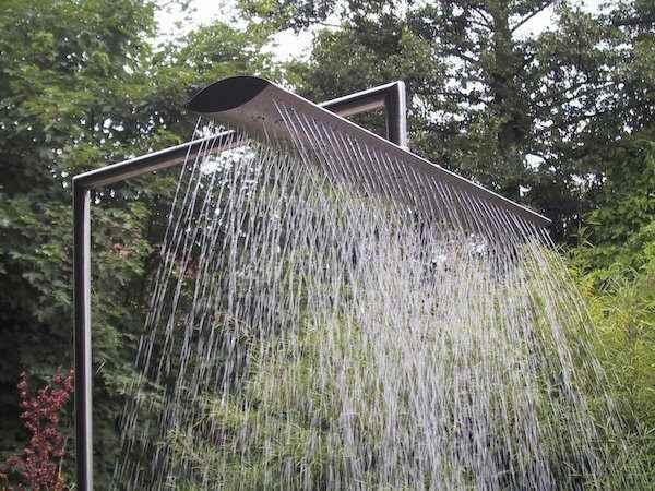 Pooldusche Duschen Am Teich Im Garten Aussendusche Gartendusche