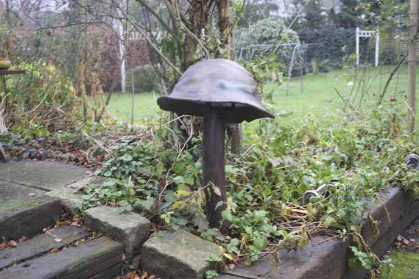Gartenlampe Pilz