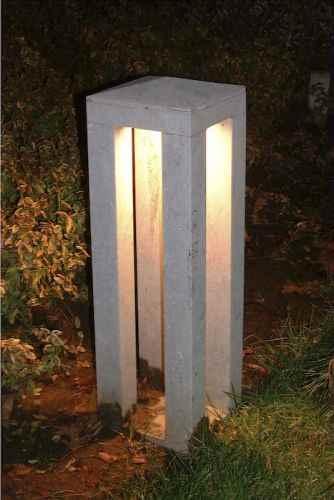 Aussenlampen Aus Naturstein Qualitats Echtstein Gartenleuchten