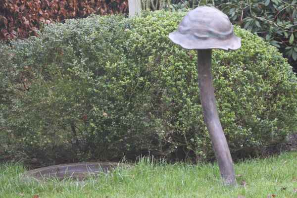 Gartenleuchten Pilze stehend