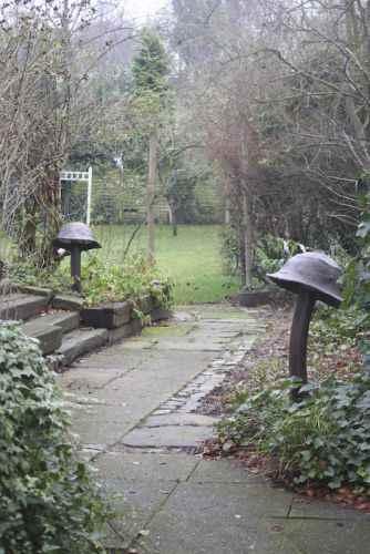 Gartenleuchten Pilze