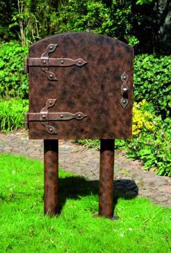 gartenschlauchbox noble aufbewahrung f r gartenschlauch au. Black Bedroom Furniture Sets. Home Design Ideas