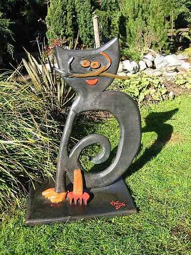Gartenskulpturen vom Künstler
