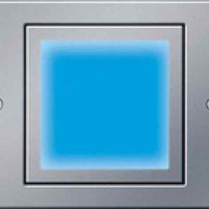 Gira Led Orientierungsleuchte blau außen