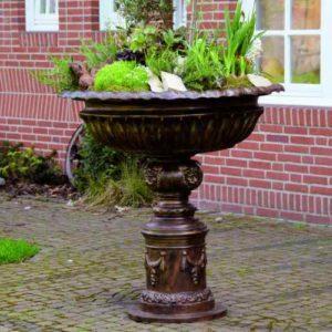 große stehende Garten Blumenschale
