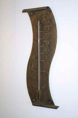 gro es au enthermometer garten wand gartenthermometer the. Black Bedroom Furniture Sets. Home Design Ideas