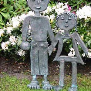 Hänsel und Gretel Garten Figuren