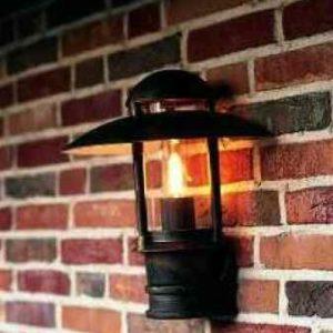 Harmonische Außen Gartenwandlampe