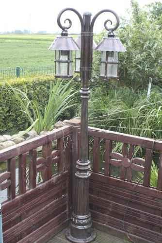 harmonische Garten Laterne