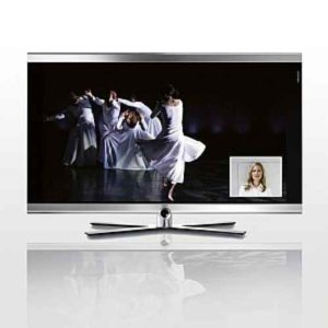 Hauseingang Videobild auf TV