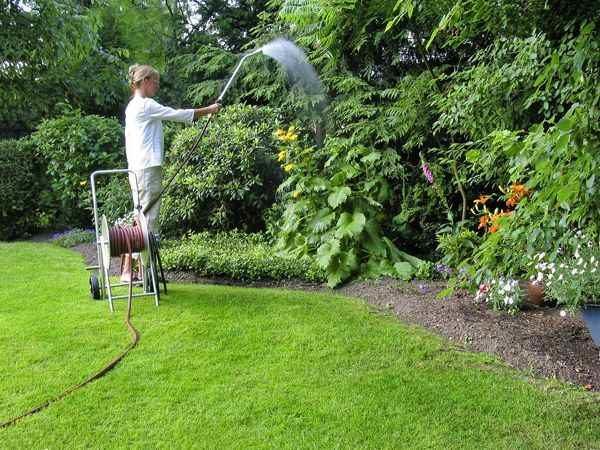 hochwertige Garten Schlauchtrommel