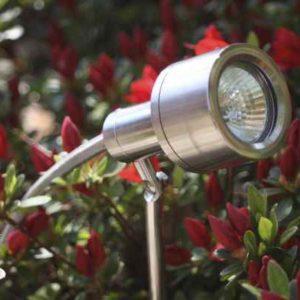 höhenverstellbarer Gartenspot