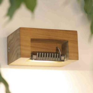 Holz Außen Wandleuchte LED