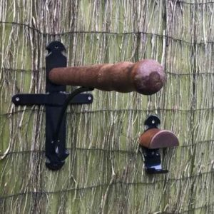 Holz Sattelhalter
